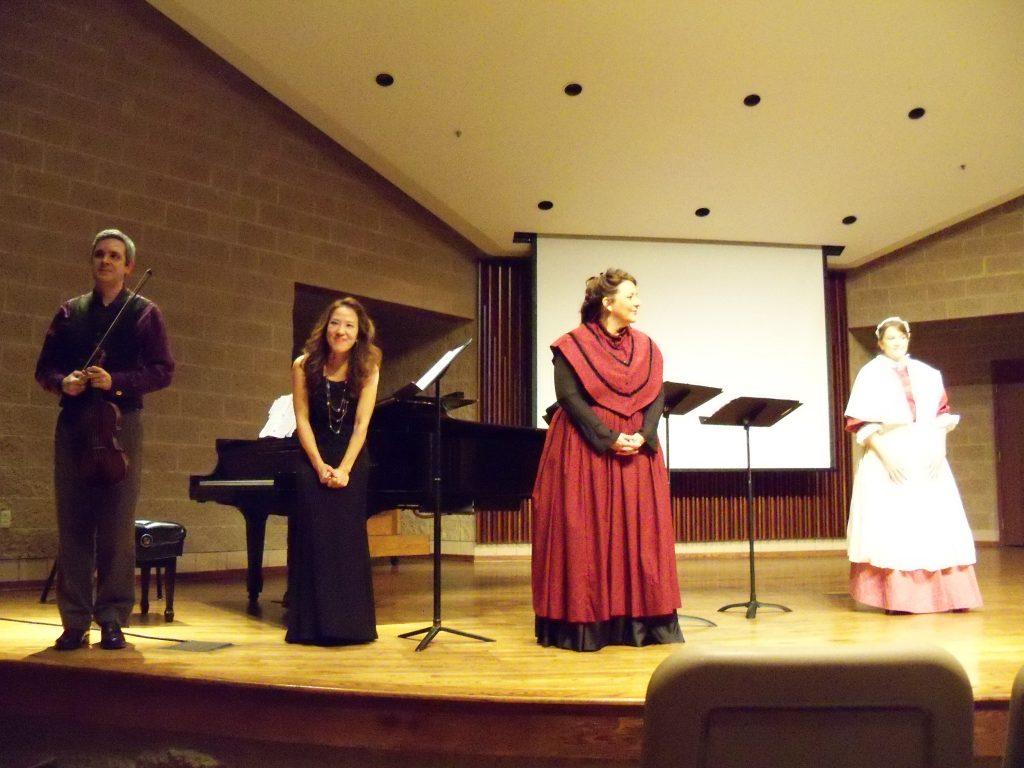The Soprani Compagni premiere of Ayers commission